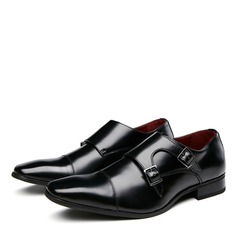 Мужская натуральня кожа Монах ремни вскользь Платья Men's Oxfords