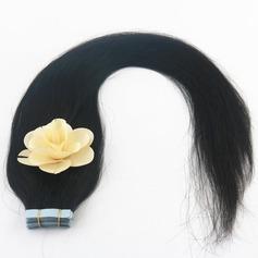 5A Jungfrau / Remy Gerade Menschliches Haar Tape in Haarverlängerungen 40pcs 100g