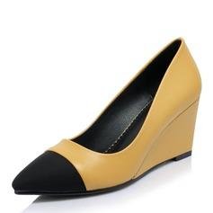Femmes PVC Talon compensé Escarpins Compensée avec Autres chaussures