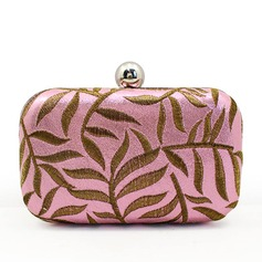 Pretty PU/Embroidery Clutches/Wristlets