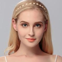 Maravilloso Aleación/La perla de faux Tiaras con Rhinestone
