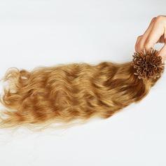 4A Nicht remy Wasserwelle Menschliches Haar Tape in Haarverlängerungen (Einzelstück verkauft) 100g