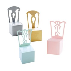Lovely/Chair Design High quality paper Creative Gifts (Set of 12)