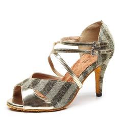 Femmes Tissu Talons Latin Chaussures de danse