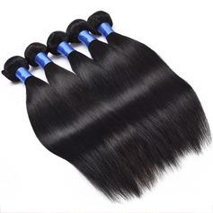 4A Non remy Tout droit les cheveux humains Fermeture (Vendu en une seule pièce) 100 g