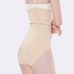 Mulheres Clássico Chinlon/Nailon Cintura Alta Cuecas Calcinha shaper do corpo