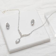 Hermoso Aleación/Diamantes de imitación/Circón De mujer/Señoras' Sistemas de la joyería
