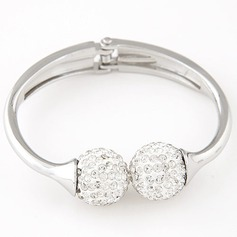 Fashional Alloy Rhinestones With Rhinestone Ladies' Fashion Bracelets