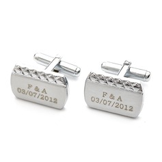 Personalized Alloy Cufflinks (Set of 2) (200146740)