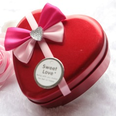 Treasure Chest Metal Favor Boxes With Ribbons