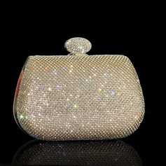 Shining Crystal/ Rhinestone Clutches/Wristlets/Satchel (012110914)