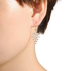 Élégante Résine Dames Boucles d'oreilles
