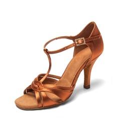 De mujer Satén Danza latina Zapatos de danza