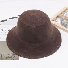Senhoras Algodão/Linho De disquetes Chapéu