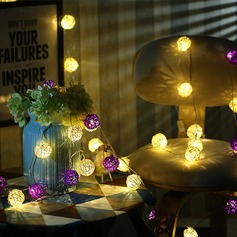 Simple/Niza Precioso/Redondo Madera Luces LED