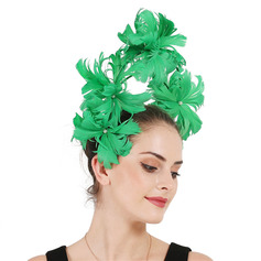 Dames Uniek/Geweldig Feather met Feather Fascinators/Kentucky Derby Hats