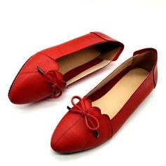 Women's Real Leather Flats أحذية