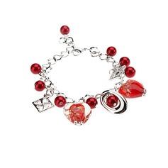 Alloy Coloured Glaze Ladies' Bracelets & Anklets