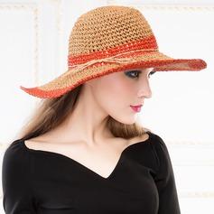 Señoras' Elegante Verano Papiro con Sombrero de paja