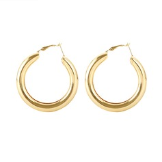 Simple Alloy Women's Fashion Earrings (Sold in a single piece)