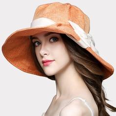 Dames Beau Coton avec Une fleur Chapeaux de plage / soleil
