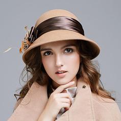 Dames Élégante Coton avec Une fleur Chapeau de seau