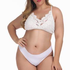 Brude/Feminin/Ekstra Størrelser Fancy Polyester bh