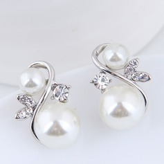 Beautiful Alloy Rhinestones With Rhinestone Women's Fashion Earrings (137190532)