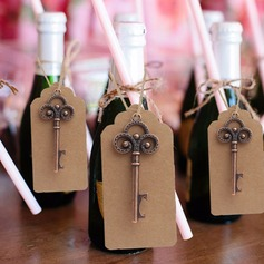 DIY Skeleton Bottle Opener Wedding Favors