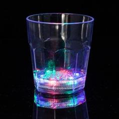 Färgglada Plast LED kopp