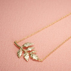 Elegant Alloy Ladies' Necklaces