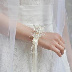 Style Classique Attaché à la main Ruban Corsage du poignet (vendu en une seule pièce) -