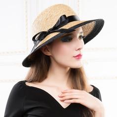 Senhoras Especial Verão Rattan de palha com Chapéu de palha