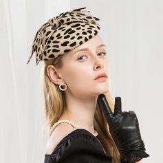 Damer' Särskilda/Glamorösa/Enkel/Utsökt/Hög Kvalitet/Romantiskt/tappning utformar/konstnärligt Ull Basker Hat