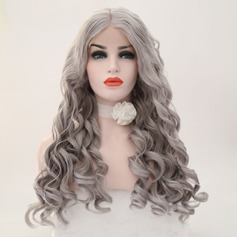 Loose Wavy Syntetisk Lace Front Parykar 340g