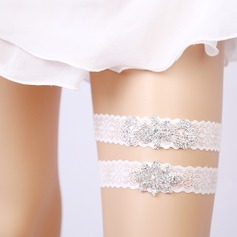 Bridal/Feminine/Dance Charming Lace Garters (041217664)