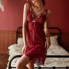 Del chinlon Estilo clásico Nupcial/Femenino Ropa de dormir/Pijama conjunto