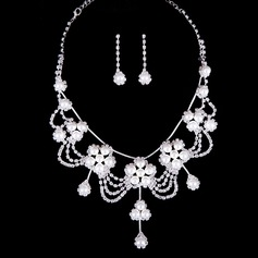 Hottest Alloy/Rhinestones Ladies' Jewelry Sets