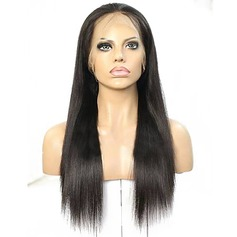 4A Ej remy Vattenvåg Mänskligt hår Lace Front Parykar
