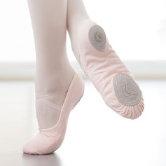 Kvinnor Duk Platta Skor / Fritidsskor Ballet Övning Dansskor
