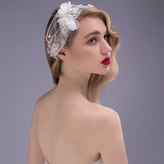 Glamourøse Rhinsten/Imiteret Pearl/Netto garn/Blonder Pandebånd