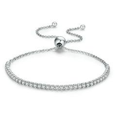 Delicate Chain Bridal Bracelets Bolo Bracelets - Valentines Gifts For Her
