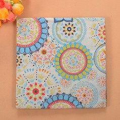 """Colorful World"" Beverage Napkins"