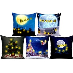 home fashion design  LED light  pillow cover christmas gift (Sold in a single piece)