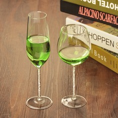 Simple Glass Wine Cup (Sold in a single piece)