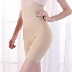Mulheres Feminino Algodão Cintura Alta Meio Corpo Calcinha shaper do corpo