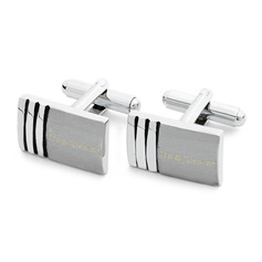 Personalized Stainless Steel Cufflinks (Set of 2) (200146911)