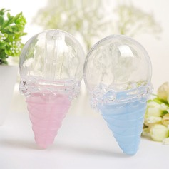 Creative/Lovely/Nice Ice cream Plastic Favor Boxes