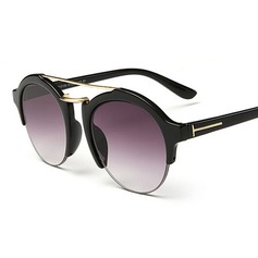 UV400 Retro/Vintage Round Sun Glasses (201083511)