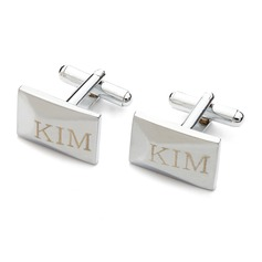 Personalized High Quality Stainless Steel Cufflinks (Set of 2)